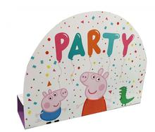 Prasátko Peppa pozvánky na party 8 ks