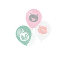 Zvířátka balónky 6 ks 23 cm