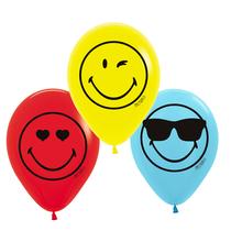 Balónky SmileyWorld 6 ks 23 cm