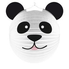 Panda lampion 25 cm