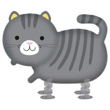 Kočka chodící balónek