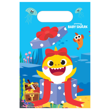 Baby Shark taška papírová 8 ks