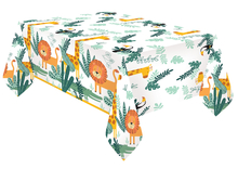 Safari ubrus papírový 120 cm x 180 cm