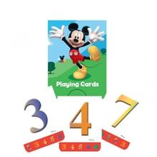 Mickey Mouse hrací karty 4 balíčky karet