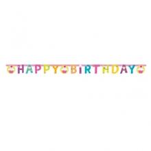 Muffiny narozeniny nápis 180 x 15 cm