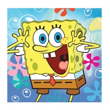 SpongeBob ubrousky 20ks 33x33cm