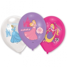 Princess balonky mix 6ks