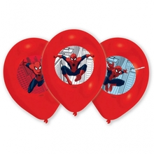 Spiderman balonky 6ks 27,5cm