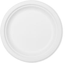 Talíře bílé bio 10 ks 22 cm