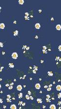 Ubrus Pretty Daisy Blue Dunicel® 138 cm x 220 cm