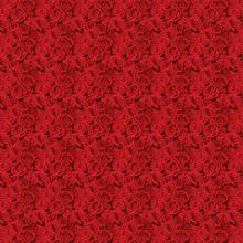 Napron dekorativní ubrus Red Roses Dunicel® 84 cm x 84 cm