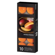 Vonné svíčky Mango-Papaya 10 ks