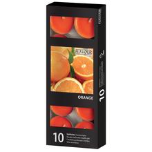 Vonné svíčky Orange 10 ks