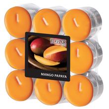 Vonné svíčky Mango-Papaya 18 ks