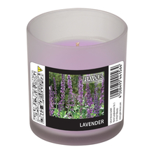 Vonná svíčka Lavender v matném skle Indro Vino