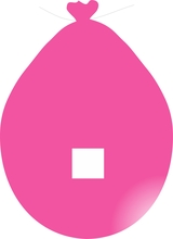 Balónek znak . růžový