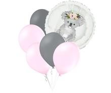 Set balónků a kruh s potiskem koaly