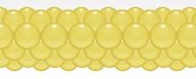 Balónková girlanda žlutá 3 m