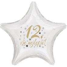 12.narozeniny balónek hvězda