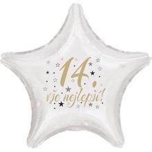 14.narozeniny balónek hvězda