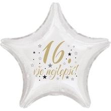 16. narozeniny balónek hvězda