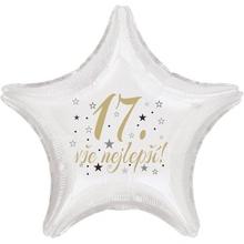 17 narozeniny balónek hvězda