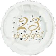 23. narozeniny balónek kruh