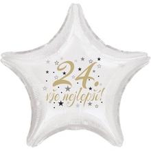24. narozeniny balónek hvězda