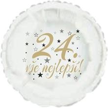 24. narozeniny balónek kruh