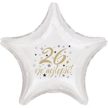 26. narozeniny balónek hvězda