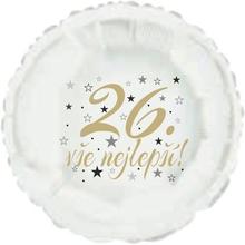 26. narozeniny balónek kruh