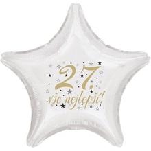 27. narozeniny balónek hvězda