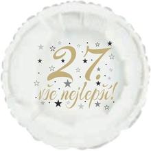 27. narozeniny balónek kruh