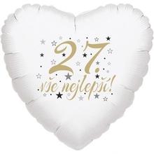 27. narozeniny balónek srdce