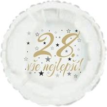 28. narozeniny balónek kruh