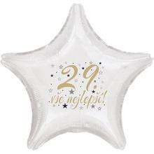 29. narozeniny balónek hvězda