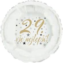 29. narozeniny balónek kruh