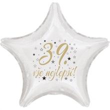39. narozeniny balónek hvězda