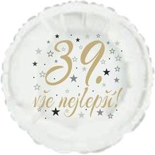 39. narozeniny balónek kruh