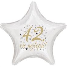 42. narozeniny balónek hvězda