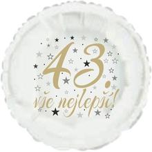 43. narozeniny balónek kruh