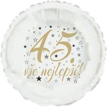 45. narozeniny balónek kruh