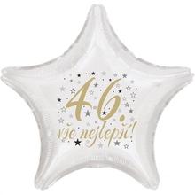 46. narozeniny balónek hvězda