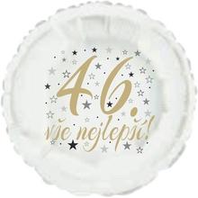 46. narozeniny balónek kruh