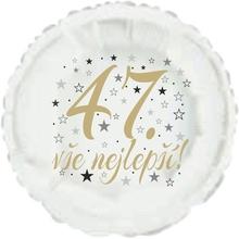 47. narozeniny balónek kruh
