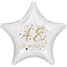 48. narozeniny balónek hvězda