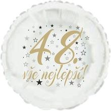 48. narozeniny balónek kruh
