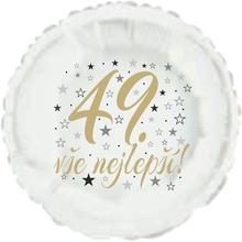 49. narozeniny balónek kruh