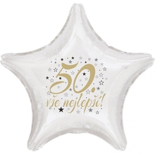 50. narozeniny balónek hvězda