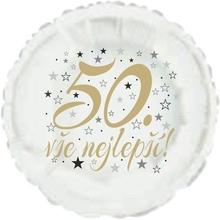 50. narozeniny balónek kruh